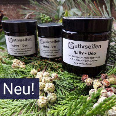Neue Produkte aus biologischen Zutaten