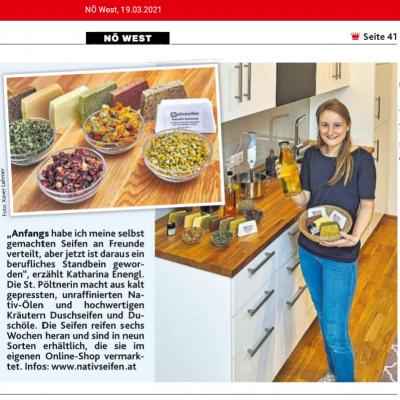 Beitrag in der Kronen-Zeitung